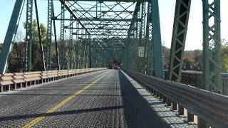 New Hope - Lambertville Bridge eastbound