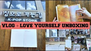 ||BTS Love Yourself Her Unboxing!!|| (VLOG)