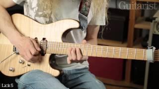 Guthrie Govan - 英Guitarist magazineがギター・レッスン「String Bending Masterclass - Part One」映像を公開 thm Music info Clip