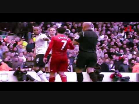Luis Suarez kick MIchael Dawson