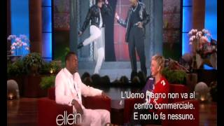 Michael Jackson and Chris Tucker, two friends.( Sub Ita)