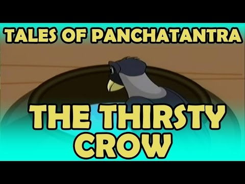 Tales Of Panchatantra | The Thirsty Crow | English | Kidrhymes video