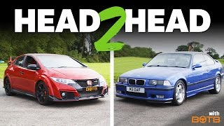 Can My 20-Year-Old M3 Keep Up With A New Civic Type R?