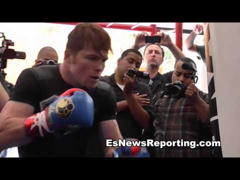 Canelo Alvarez Epic Workout In Training Camp - EsNews Boxing Image 1