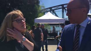 Lester Holt and NBC Nightly News in Portland