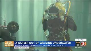 VIDEO: Underwater welding classes at Goodyear school