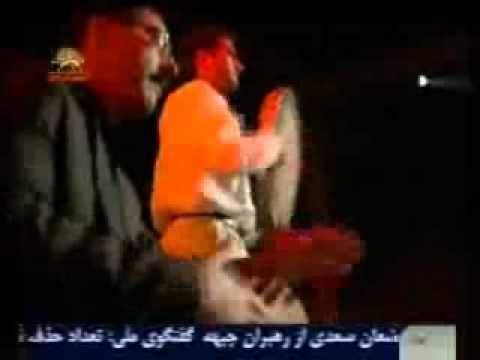 ترانه و رقص لري توسط رزمندگان اشرف90