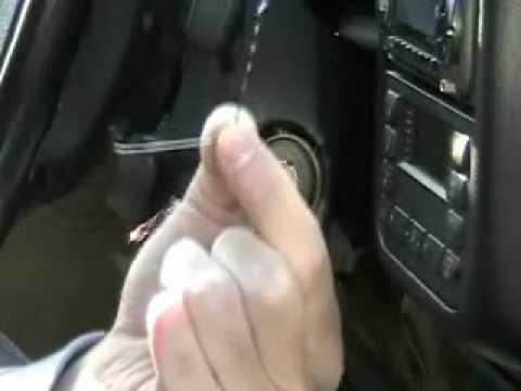 Замена личинки замка зажигания на BMW e46 (БМВ) Видео!