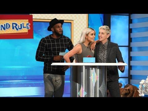 Kim Kardashian Plays '5 Second Rule'