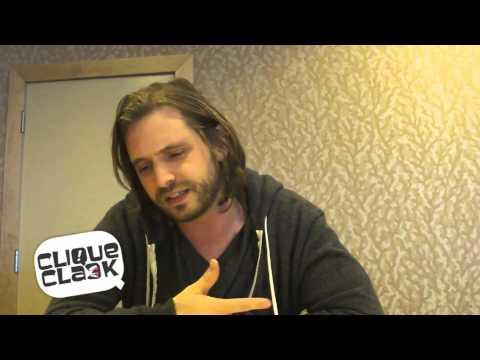 Nikita's Aaron Stanford @ 2012 SDCC