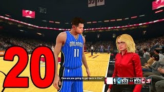NBA 2K15 My Player Career - Part 20 - Halftime Interview (Let's Play / Walkthrough)