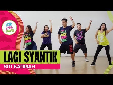 Download Lagu  Lagi Syantik by Siti Badriah | Live Love Party | Zumba | Dance Fitness Mp3 Free