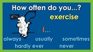 How Often Do You...? | Adverbs of Frequency | Easy English Conversation Practice | ESL.