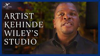 Behind the Scenes at Kehinde Wiley's Studio