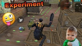 Free fire landmines experiments how to use landmine in free fire funny trick #freefirefree