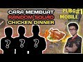 CARA BAWA CHICKEN DINNER DI RANDOM SQUAD - PUBG MOBILE INDONESIA