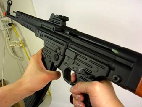 HitGuns.com - Airsoft Gun Review - AGM MP44 AGM-056 Pt.3 of 3