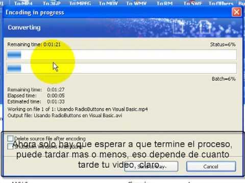 Tutorial video convert master Video