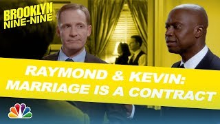 Raymond and Kevin: Marriage Is a Contract - Brooklyn Nine-Nine (Mashup)