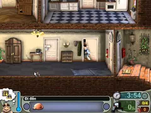 Neighbours From Hell 1 ( Người Hàng Xóm 1 ) - Màn 2 Tập 1 ( Game Việt Hóa )