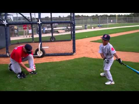 Feb 21 2011 D'Angelo Ortiz David Ortiz Little Papi Red Sox.flv