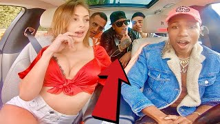 Uber driver SINGS to HOT GIRL  in 500,000 Car amp GETS DATE!