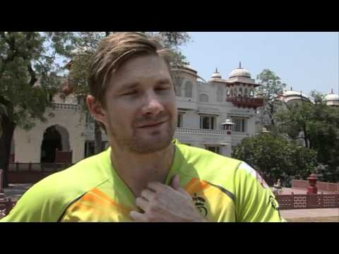 Shane Watson - Playing With Rahul