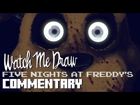 Drawing Commentary: Five Nights At Freddy's | StevRayBro
