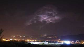Temporale notturno - A night thunderstorm