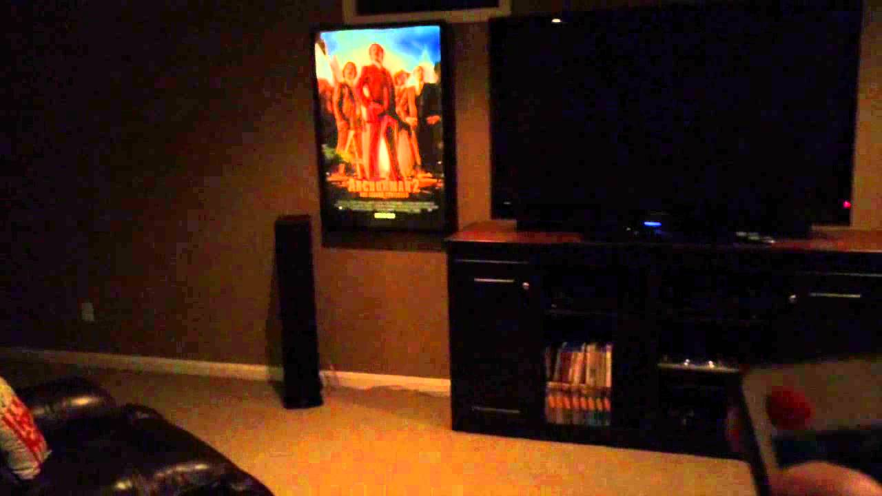 Home theater movie posters