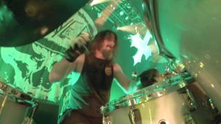 SLAYER Paul Bostaph - Chemical Warfare (Drum-Cam Footage 2014)