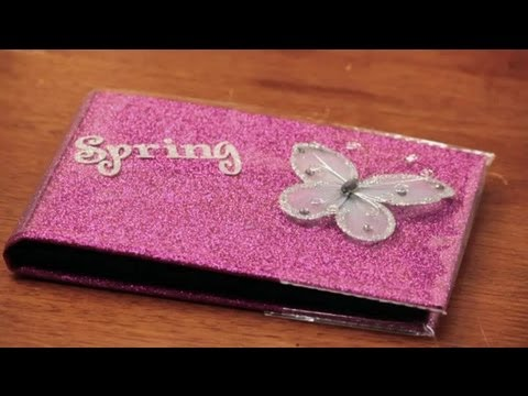 how to decorate photo albums craft decoration tips