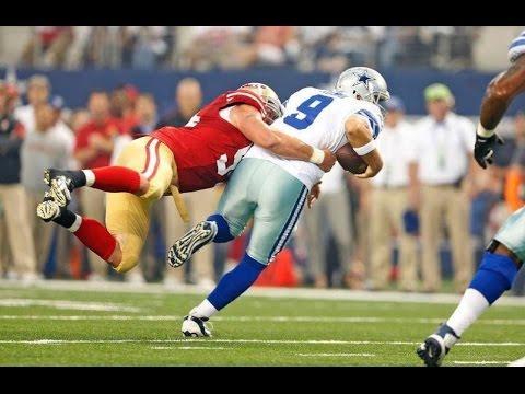 San Francisco 49ers beat Dallas Cowboys 28-17! Tony Romo throws 3 Interceptions!