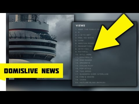 Drake ''VIEWS' Official Tracklist, 20 NEW Drake Songs & Interview on OvO Radio on Thursday! #VIEWS