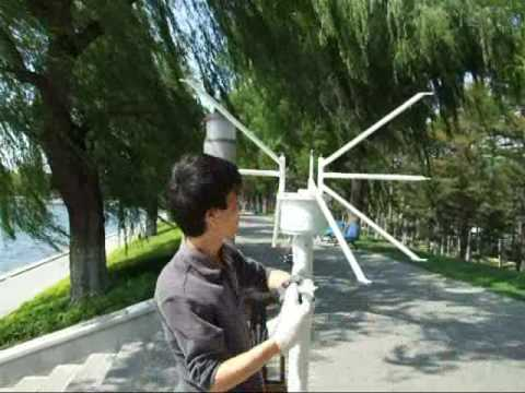 how to install vertical axis wind turbines     (wind generators)  www.carbonfreeenergy.cn