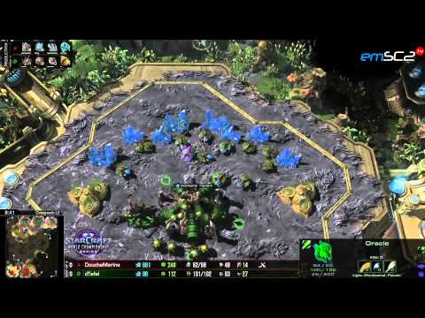 WCS Eu - ZvP Tefel vs DoucheMarine - Overgrowth - Starcraft 2 HD