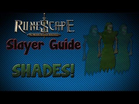 """""""Runescape 07″ – Slayer guide #6: Shades!"""