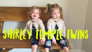 THE SHIRLEY TEMPLE TWINS