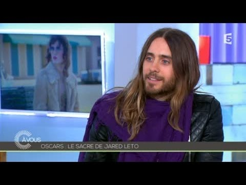 L'interview de Jared Leto - C à vous - 07/03/2014