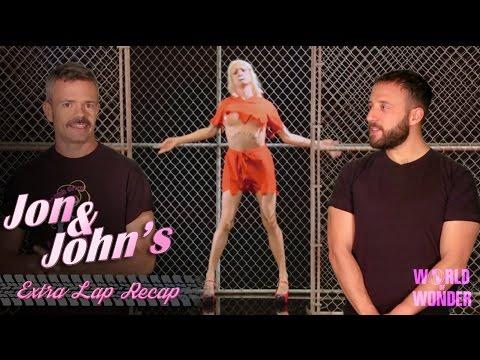 Spoiler Alert - RuPaul's Drag Race S7, Ep 8 | Jon & John's Extra Lap Recap - Conjoined Queens