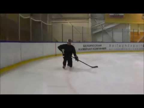 Упражнения на катание для хоккеистов 2