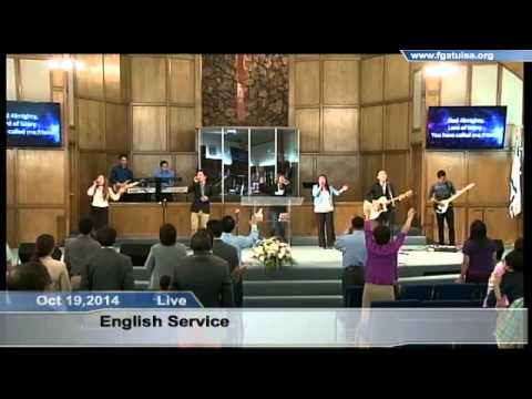Oct 19,2014 English Service