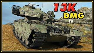 Centurion Action X - 13K Damage - World of Tanks Gameplay