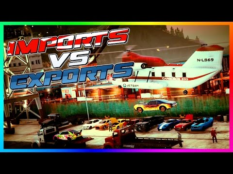 GTA ONLINE 'IMPORTS VS EXPORTS' FREEMODE SPECIAL - BEST CARS TO CUSTOMIZE, EXOTIC VEHICLES & MORE!