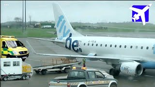 Medical Emergency on flyBe plane at Cardiff Airport