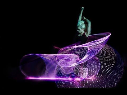 Amazing Hula Hoop Dancer Lisa Lottie Spins 6 Phoenix Hoops video