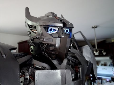 The ULTIMATE Real-Life Transformers Costume: Silverbolt