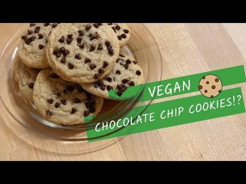 VEGAN CHOCOLATE CHIP COOKIES?  THE CUPCAKE JEMMA WAY