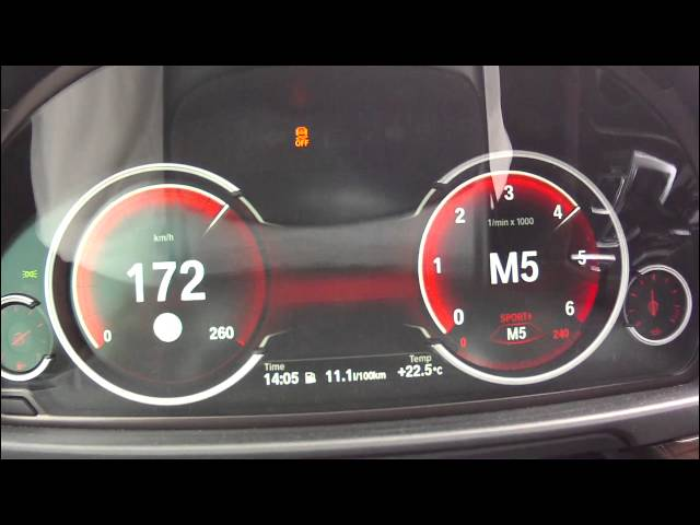 BMW 530d 2014 - acceleration 0-245 km/h using Launch ...