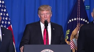 President Trump Delivers Remarks at DHS